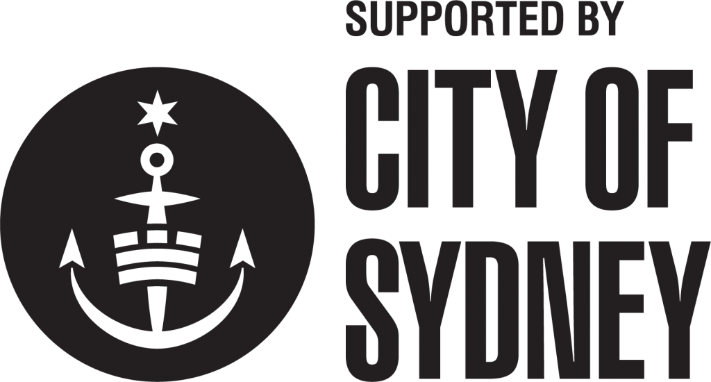 Supported by City of Sydney